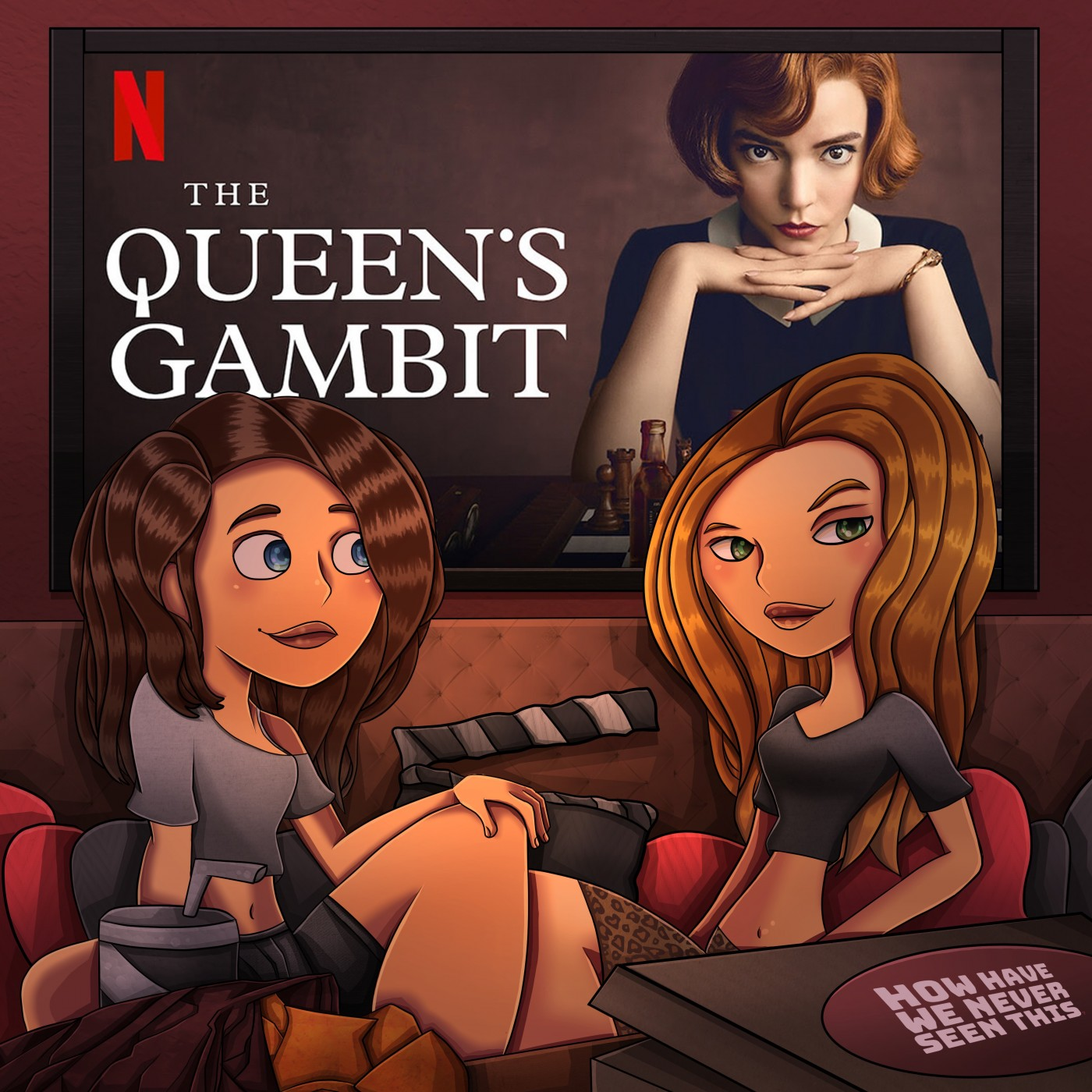 "The Queen's Gambit: ""Let's Play."""