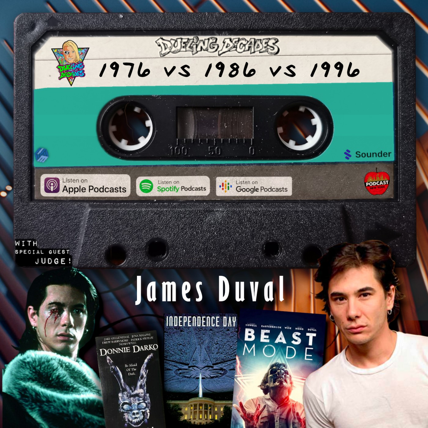 James Duval goes Beast Mode on December 1976, 1986 & 1996 in this retro rumble!
