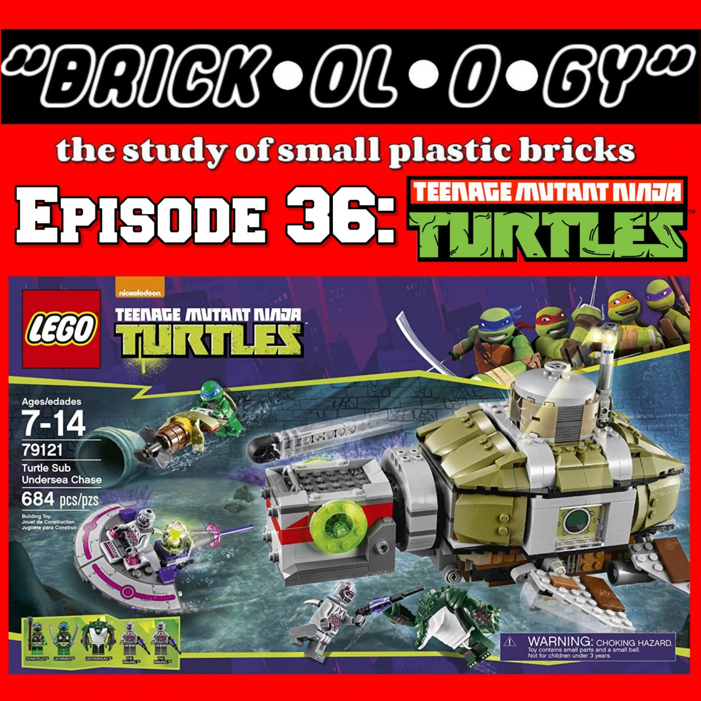 Brickology Episode 36 - LEGO Teenage Mutant Ninja Turtles