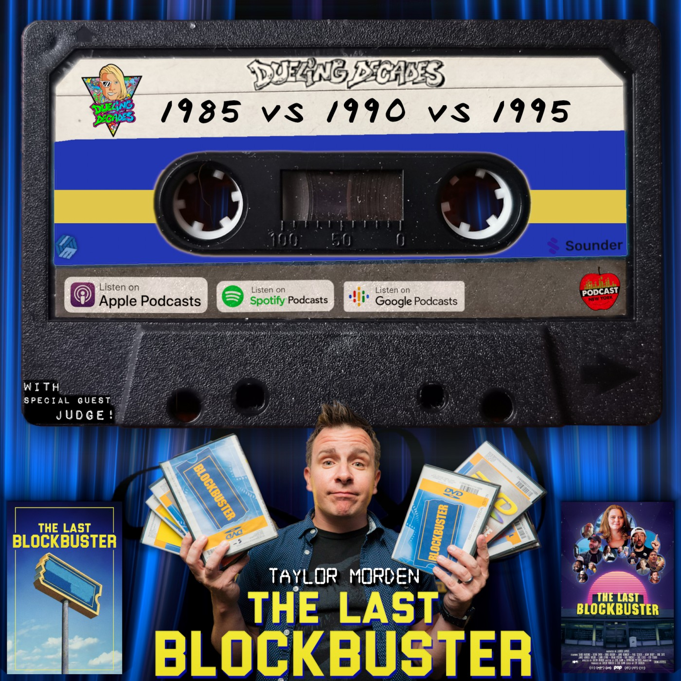 The Last Blockbuster director Taylor Morden judges this B-movie battle between 1985, 1990 & 1995!