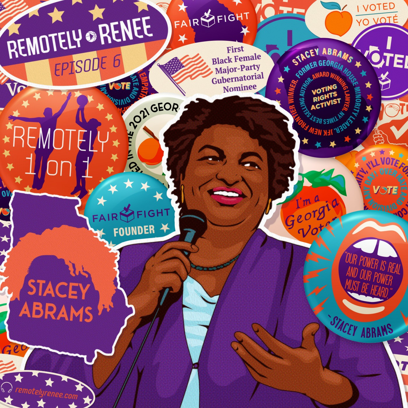 Ep 6.5 - Stacey Abrams - Founder of Fair Fight IRL