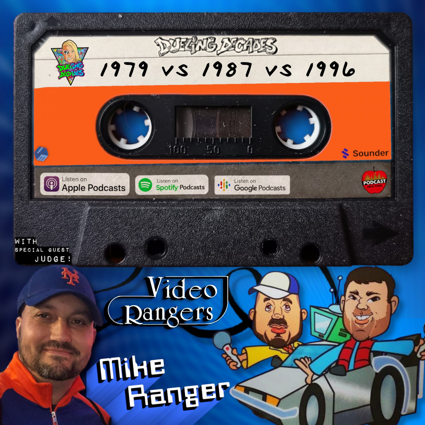 Mike Ranger returns to rule over this retro rumble between 1979, 1987 & 1996!