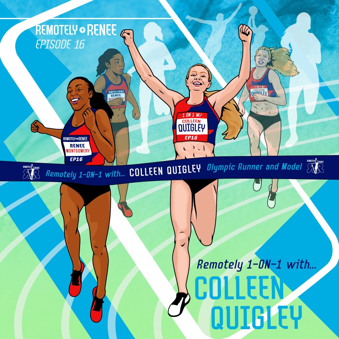 Ep 16.5 - Colleen Quigley - Olympic Runner and Model IRL