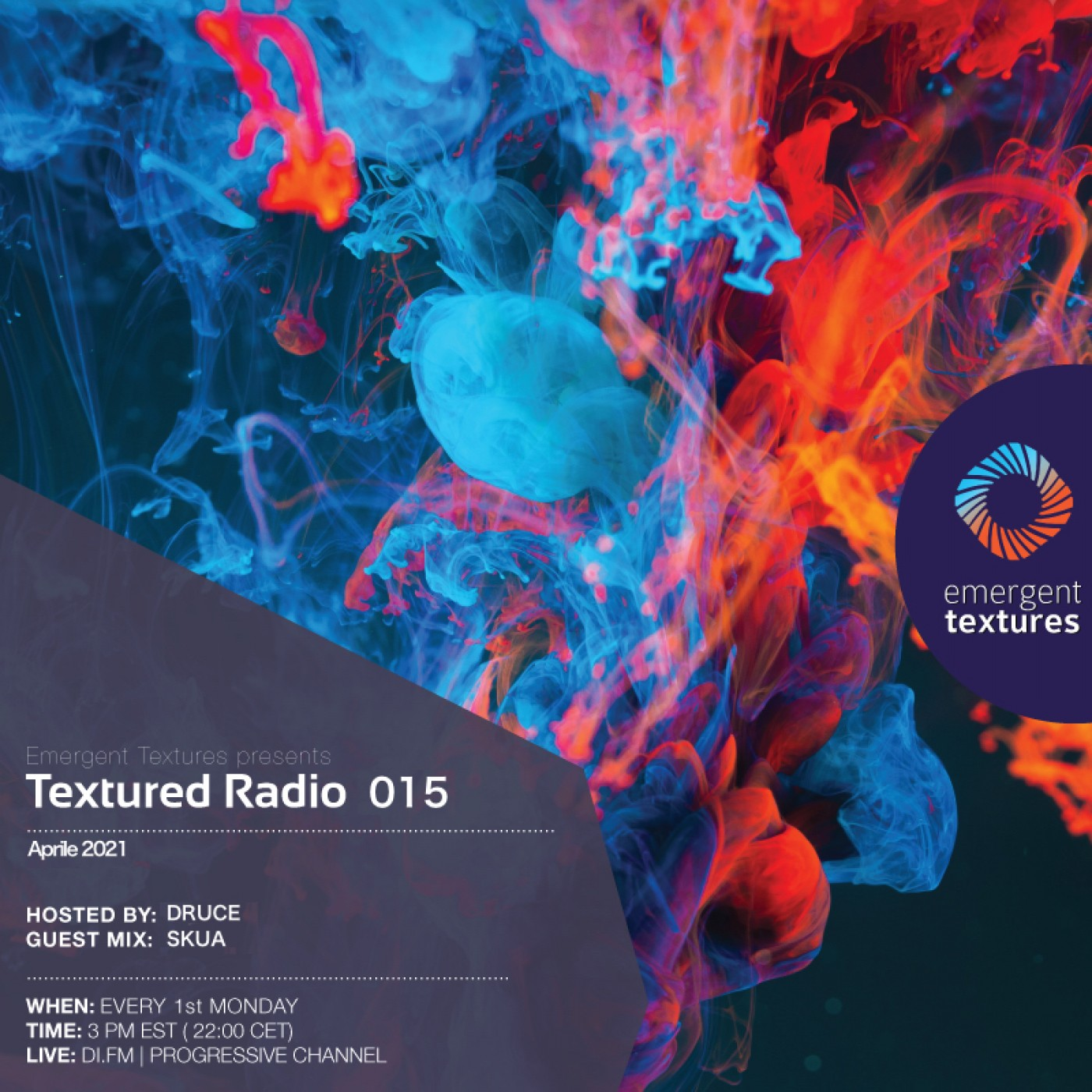 Textured Radio #015 hosted by Druce