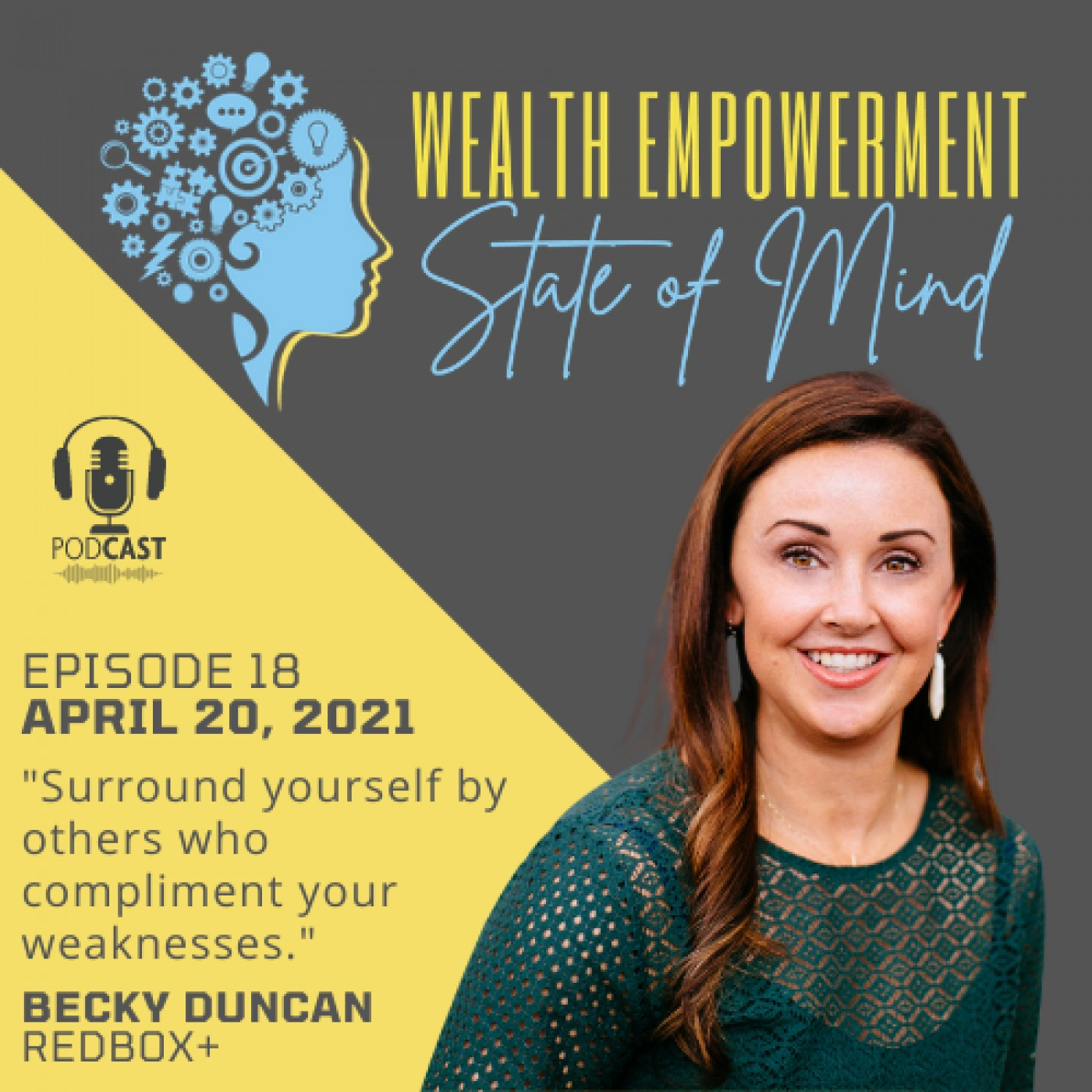 Episode 18: Becky Duncan - Red Box Plus & New Wine Girl