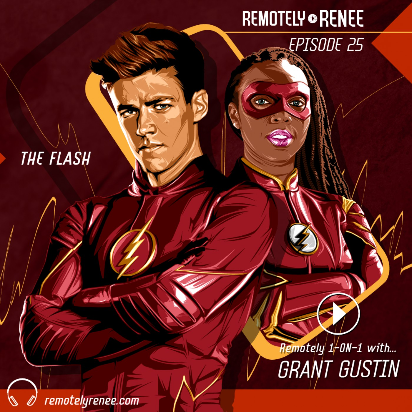 Ep 25.5 - Grant Gustin - The Flash IRL