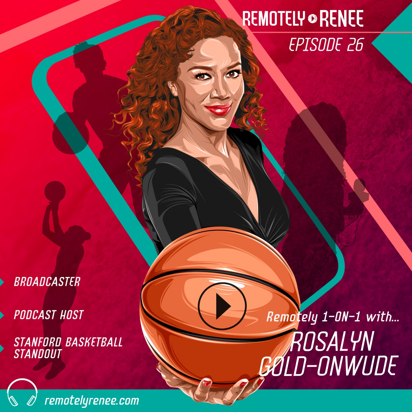 Ep 26.5 - Rosalyn Gold-Onwude - Sports Broadcaster IRL