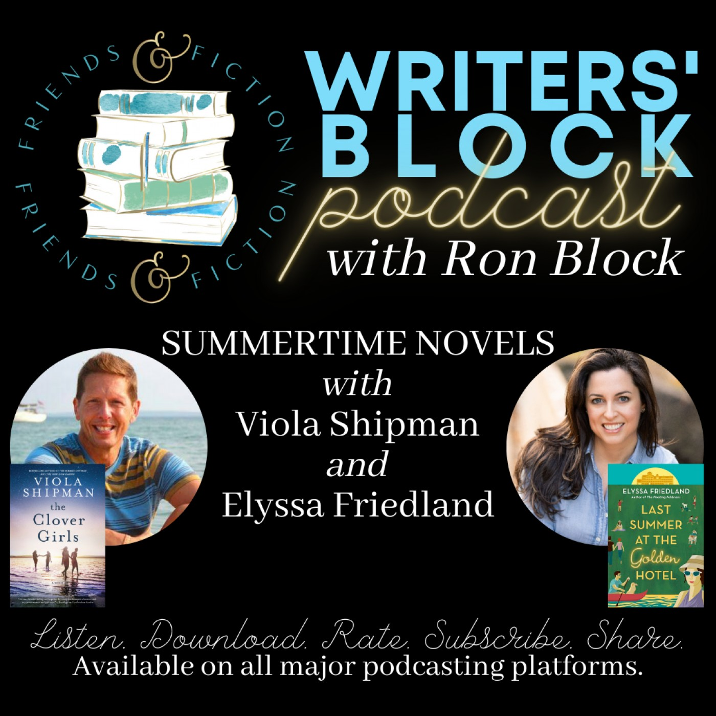 WB S1E1: Ron Block and Kristy Woodson Harvey with Wade Rouse and Elyssa Friedland
