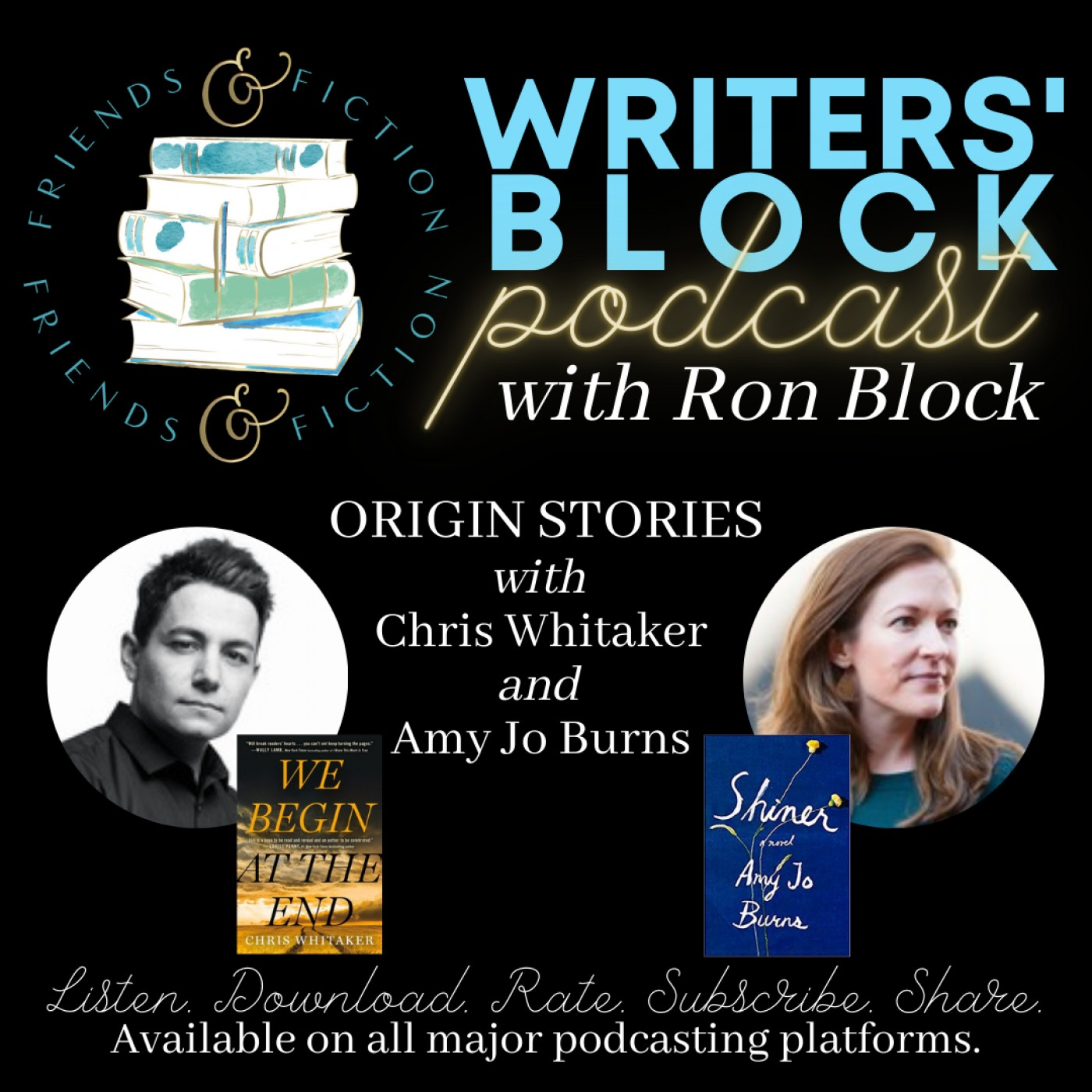 WB S1E3: Ron Block and Patti Callahan- Origin Stories with Chris Whitaker and Amy Jo Burns