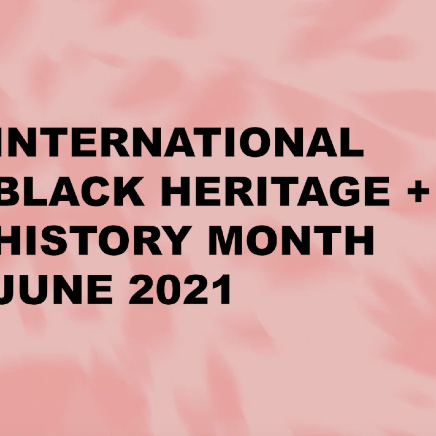 Advancing Knowledge about Juneteenth + International Afro Populations