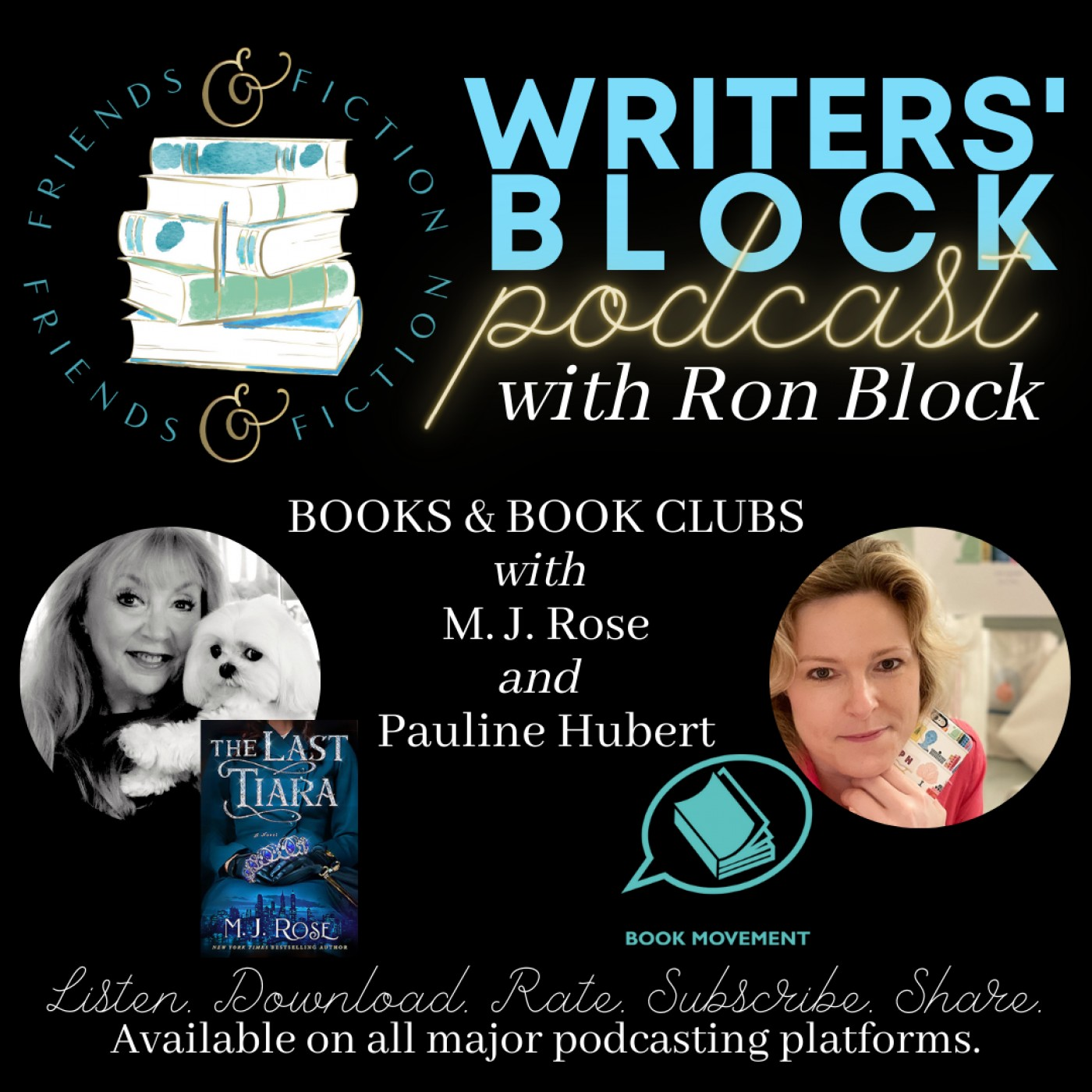 WB S1E6: Ron Block with MJ Rose and Pauline Hubert