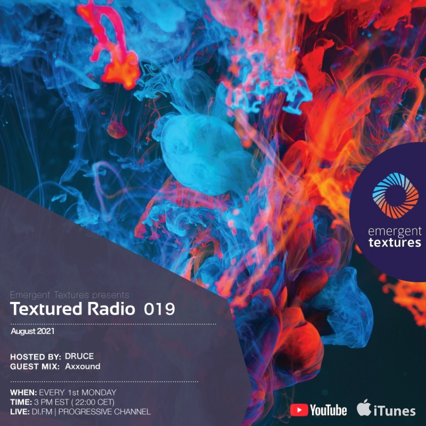 Textured Radio 019 hosted by Druce