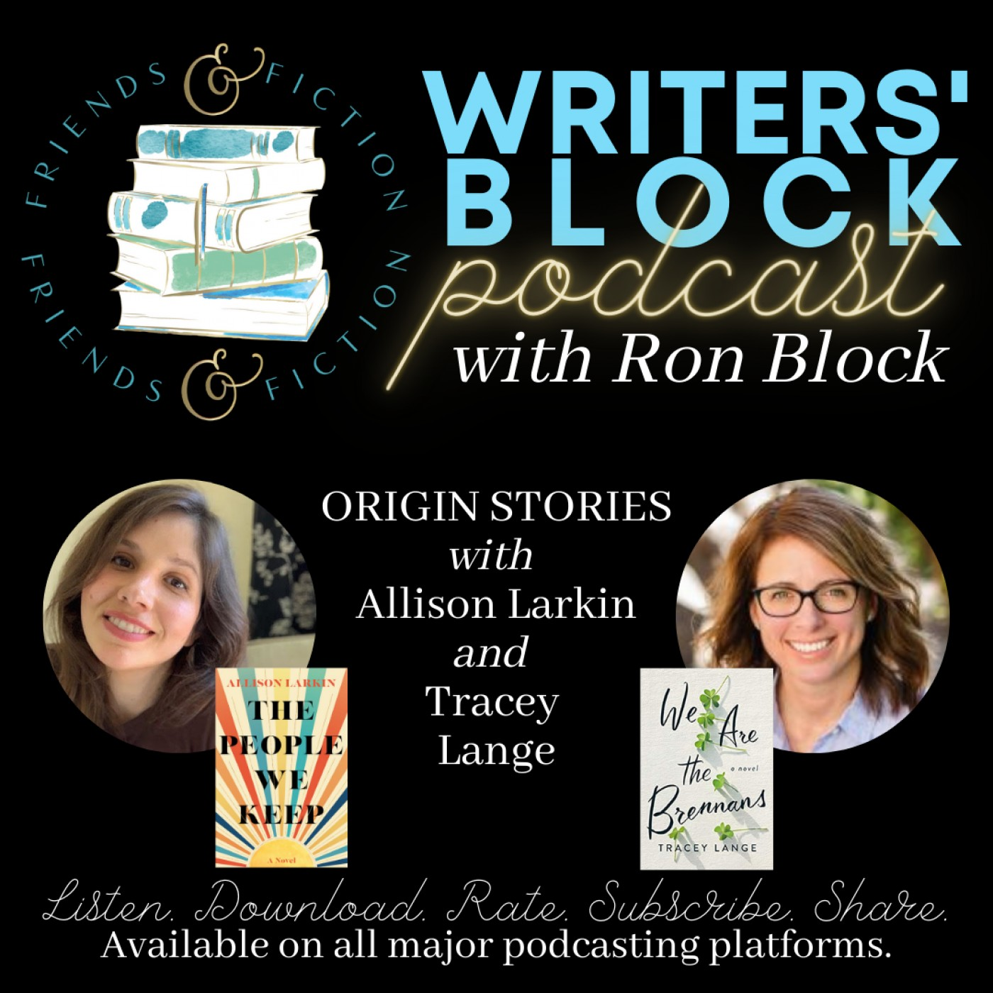 WB S1E11: Ron Block, Patti Callahan and Kristy Woodson Harvey with Tracey Lange and Allison Larkin