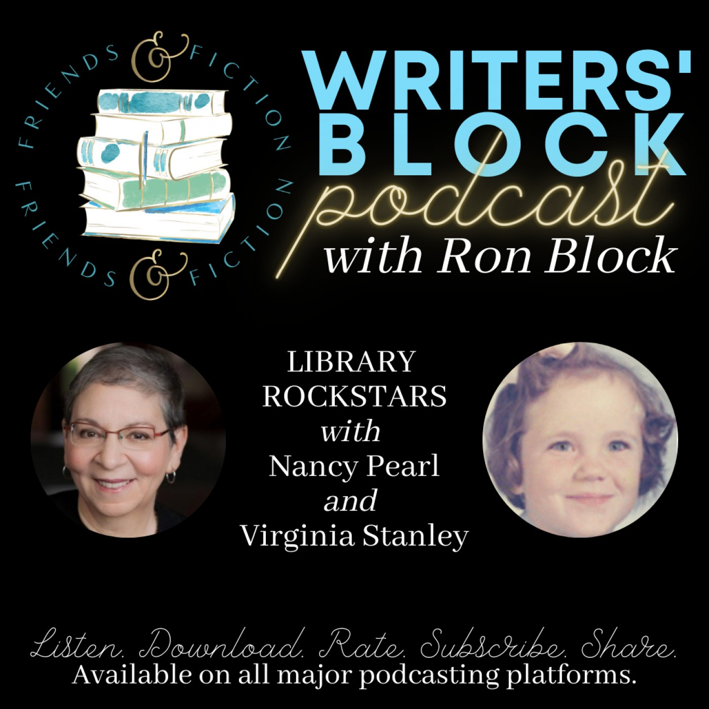 WB S1E12: Ron Block and Mary Kay Andrews with Nancy Pearl and Virginia Stanley