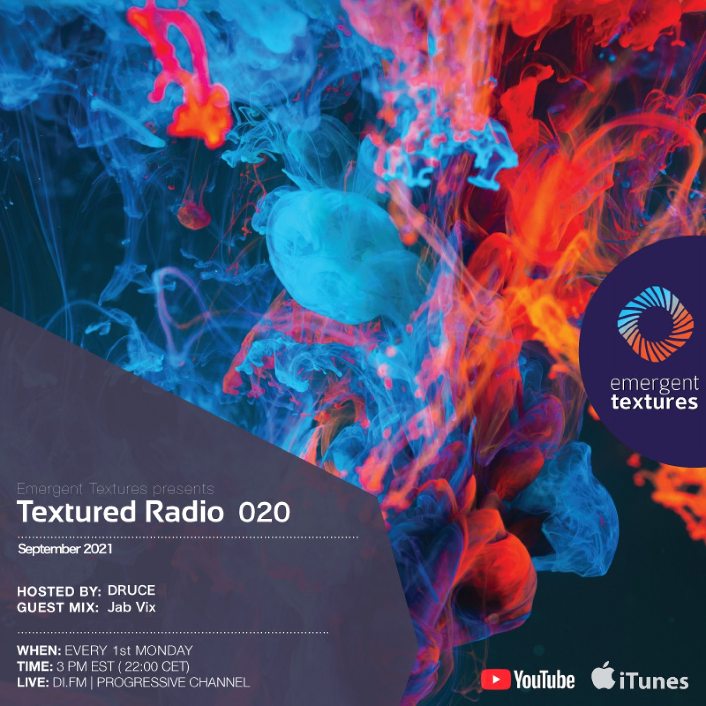 Textured Radio 020 hosted by Druce
