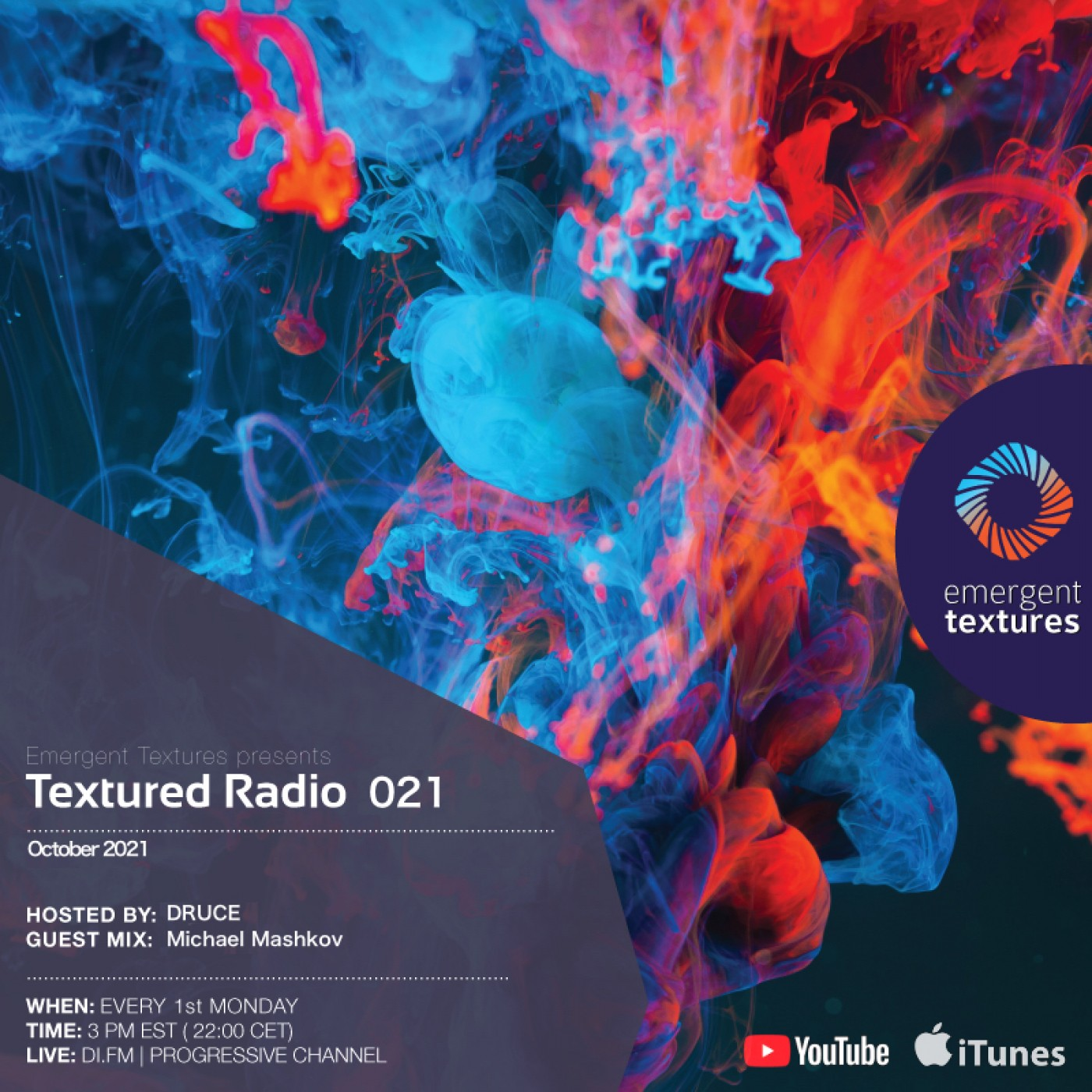 Textured Radio 021 hosted by Druce