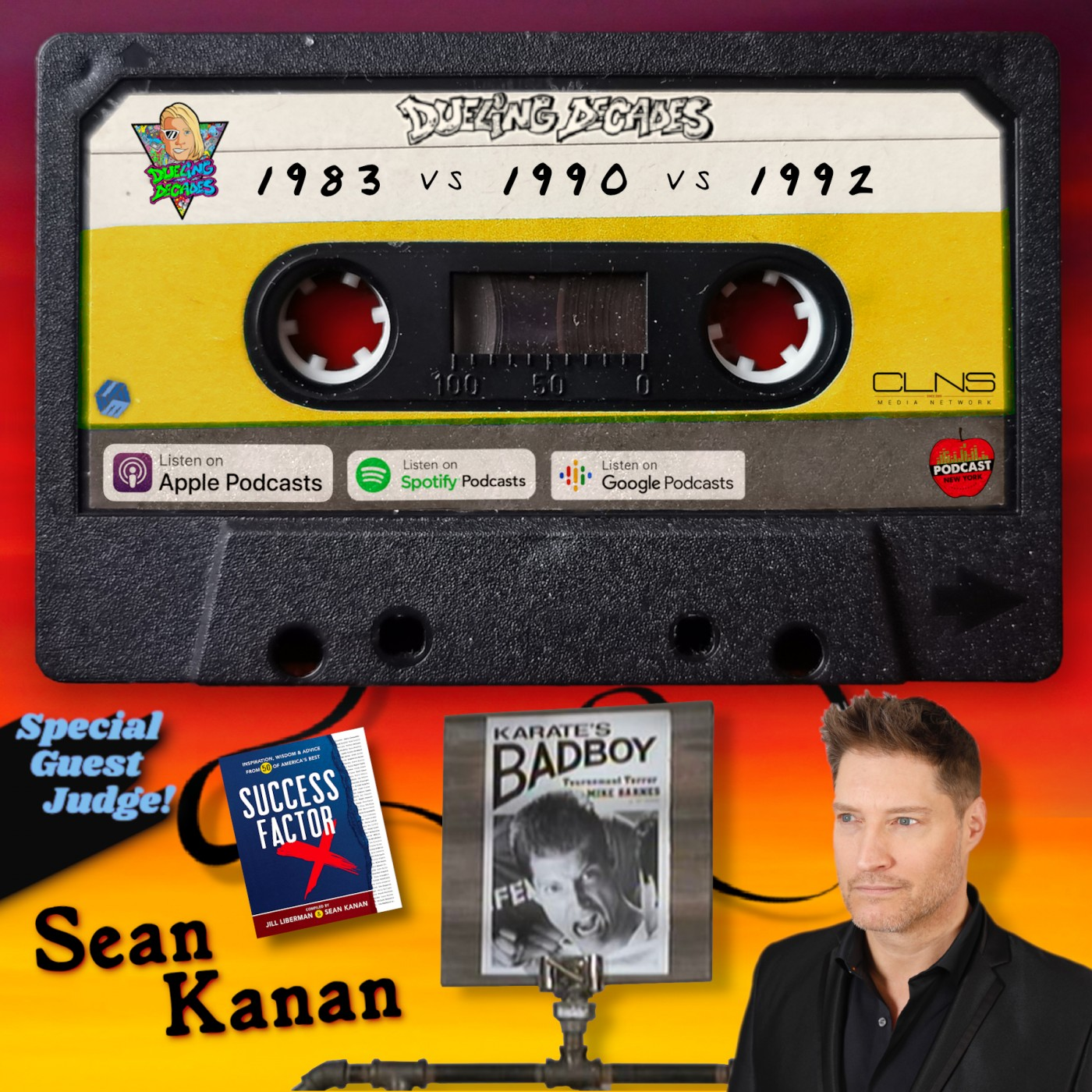 Soap Opera star and Karate Bad Boy, Sean Kanan is here to front sweep this showdown between May 1983, 1990 & 1992!