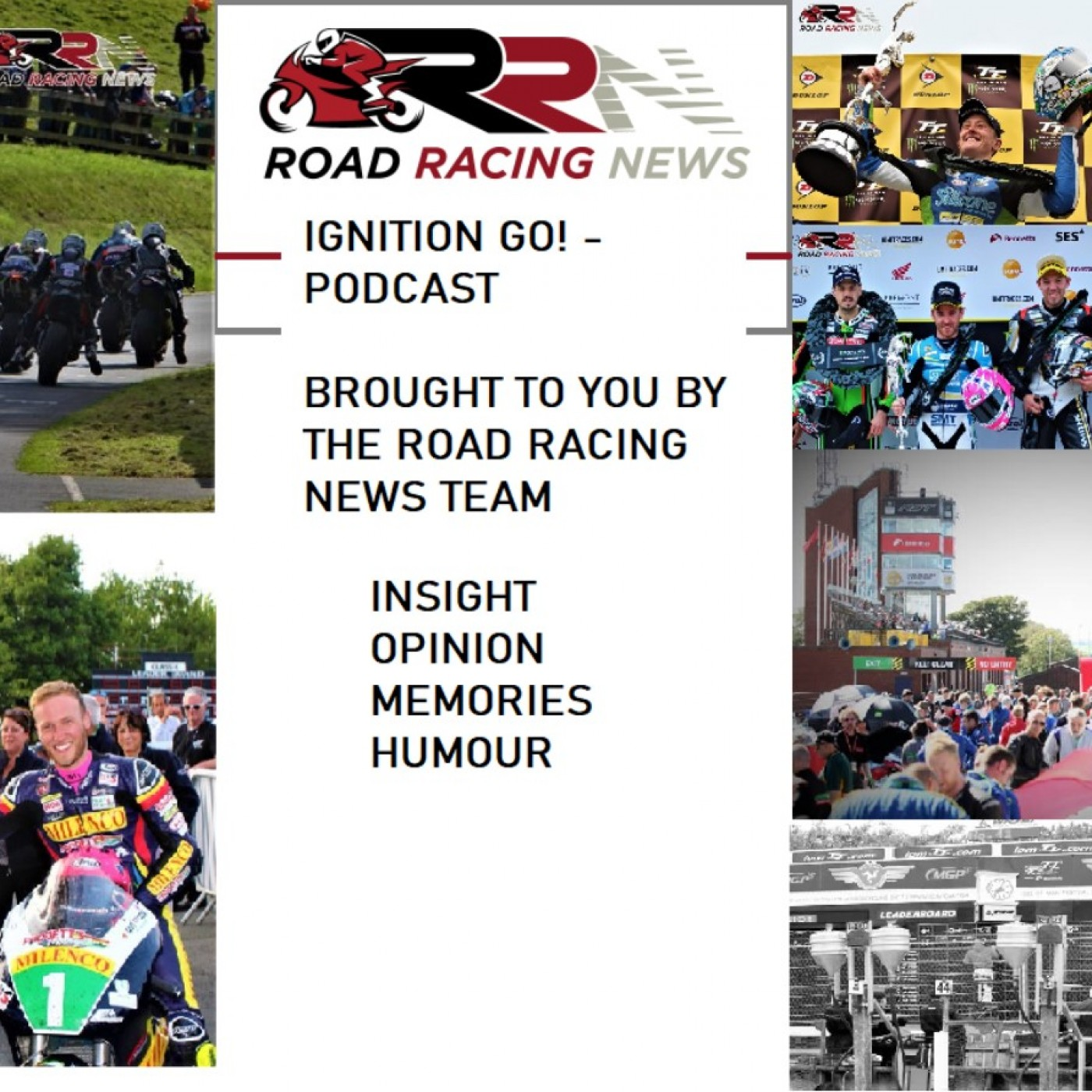 Road Racing News Podcast Series 2 - Episode 5 - News, News, News
