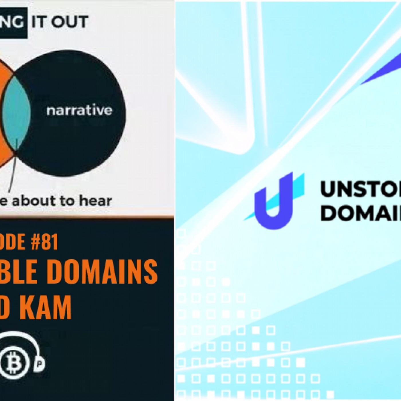Hashing It Out #81- Unstoppable Domains Brad Kam