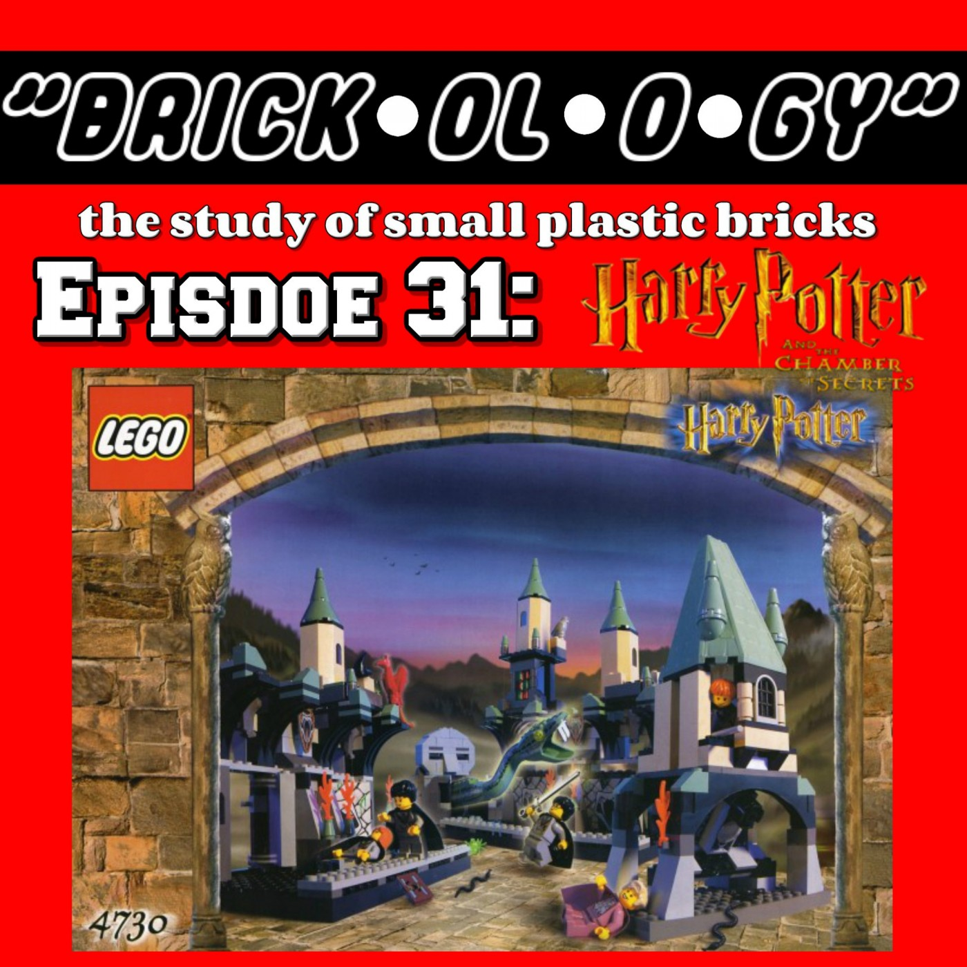 Brickology Episode 31 - LEGO Harry Potter and the Chamber of Secrets