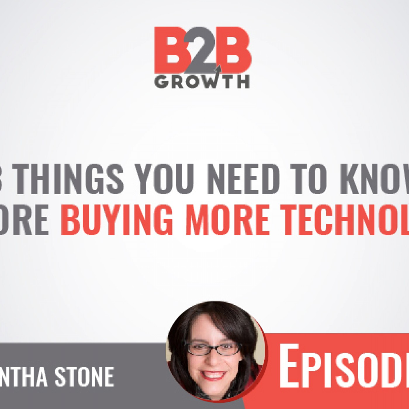 548: 3 Things You Need to Know Before Buying More Technology w/ Samantha Stone