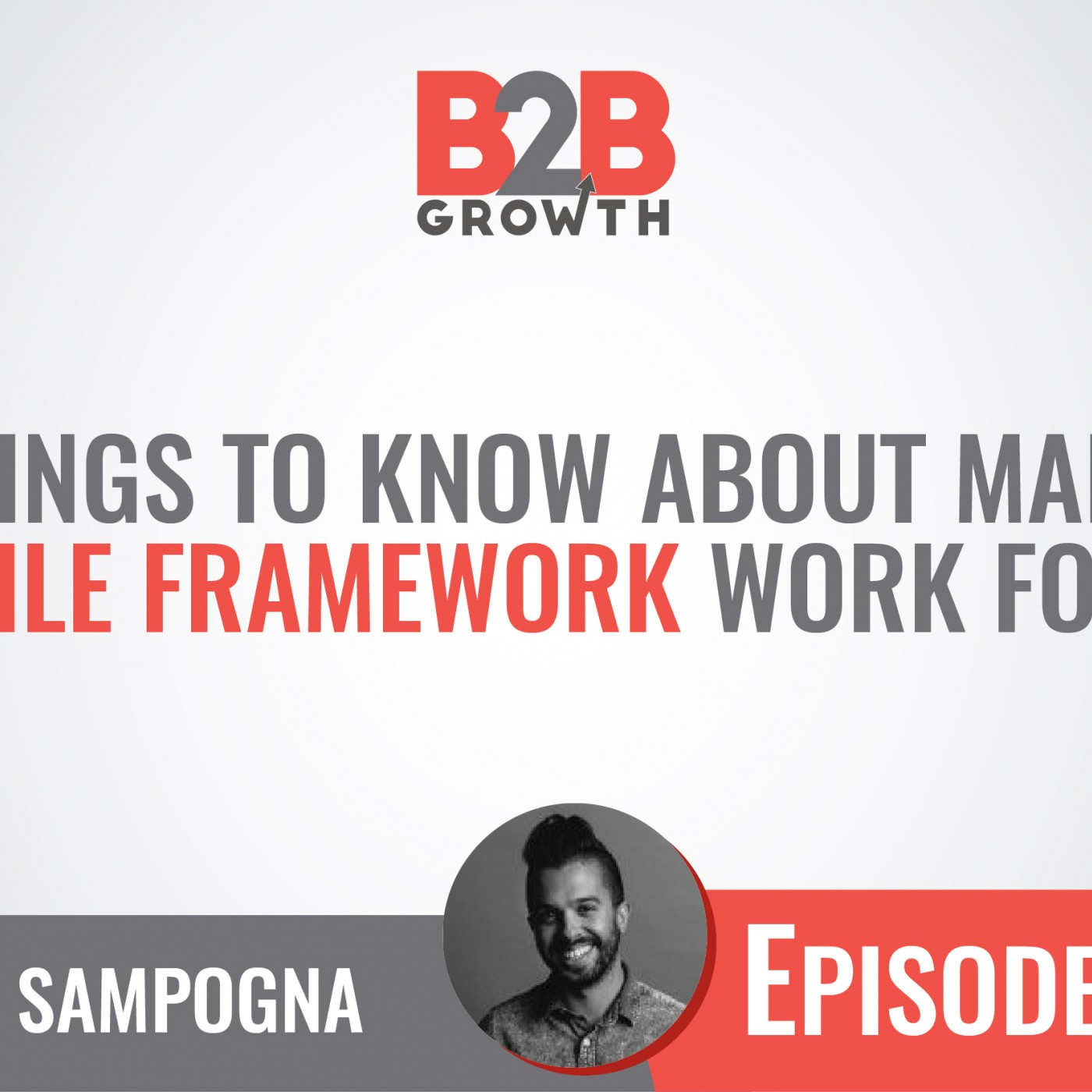 541: 5 Things to Know About Making an Agile Framework Work For You w/ John Sampogna