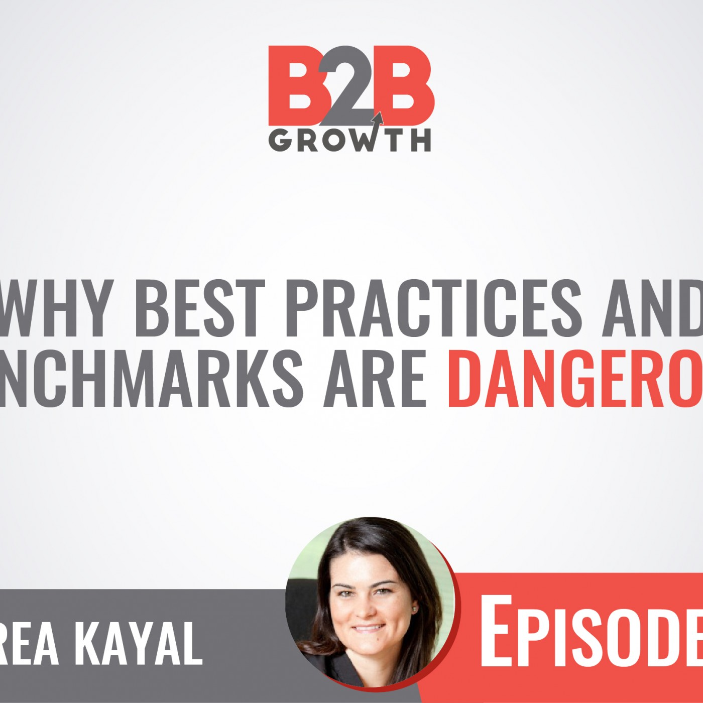 516: Why Best Practices and Benchmarks are Dangerous w/ Andrea Kayal