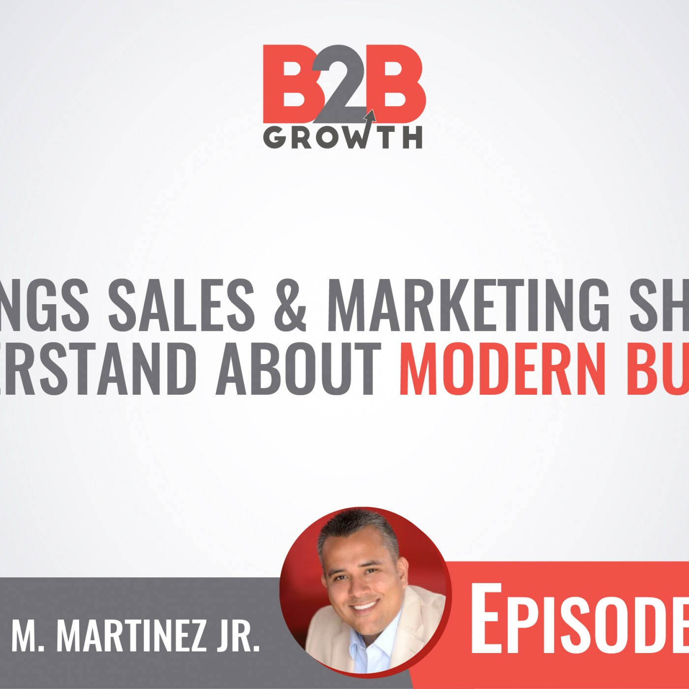 513: 4 Things Sales & Marketing Should Understand About Modern Buyers w/ Mario Martinez, Jr.