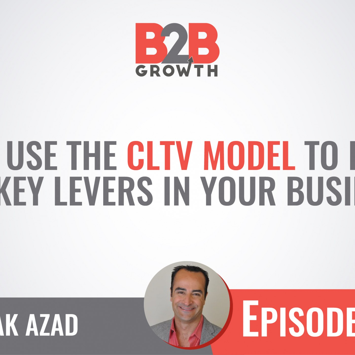 510: How to Use the CLTV Model to Identify the Key Levers in Your Business w/ Babak Azad