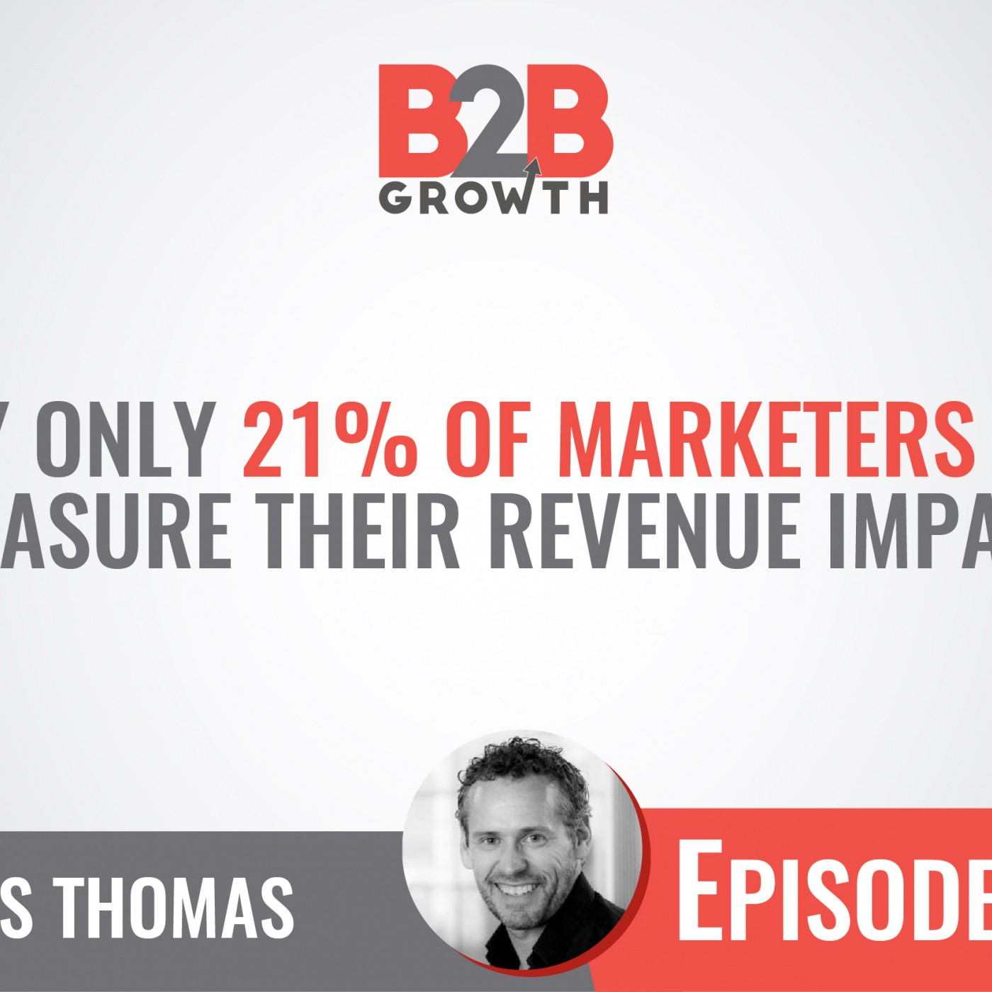 503: Why Only 21% of Marketers Can Measure Their Revenue Impact w/ James Thomas